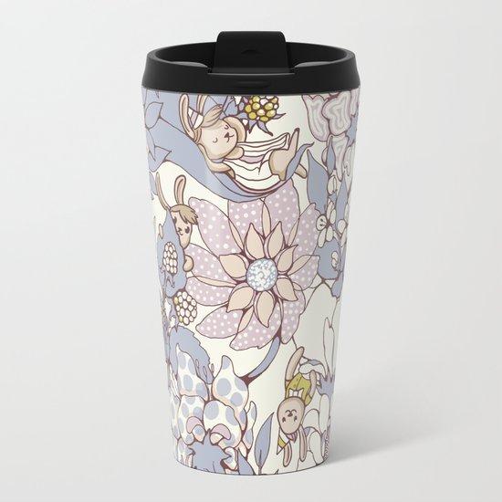 Garden party - jasmine tea version Travel Mug