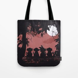 3 Monkeys and 1 Legend Tote Bag