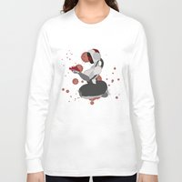 robot Long Sleeve T-shirts featuring Robot by Aeternial