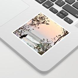 Falcon Sunrise  Sticker