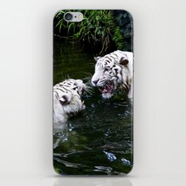 Tigers Fight iPhone Skin