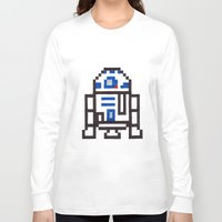 r2d2 Long Sleeve T-shirts featuring r2d2 by Walter Melon