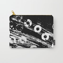 Distressed circles Carry-All Pouch