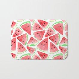 Watermelon slices pattern Bath Mat