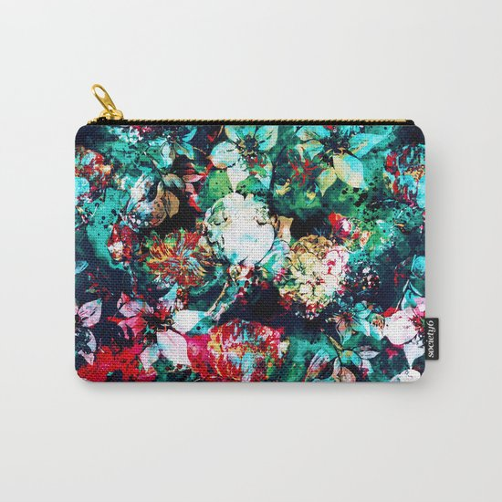 Flower Explosion Carry-All Pouch