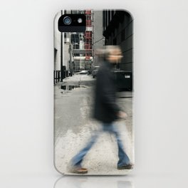 Hurry iPhone Case