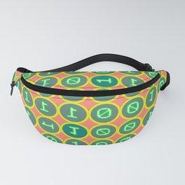 Bits pattern Fanny Pack