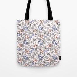 Zodiac Pattern Tote Bag