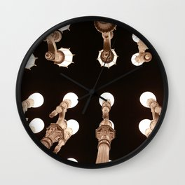 LACMA Lights Wall Clock