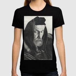 Rabbi praying with Tefillin T-shirt