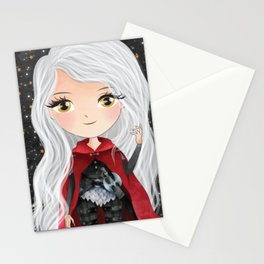 Manon Blackbeak Stationery Cards