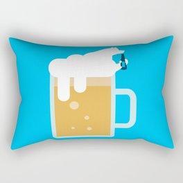 polar beer Rectangular Pillow