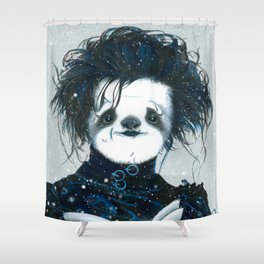 Edward Scissorsloth Shower Curtain