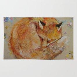 Sleeping Fox Rug