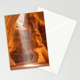 ANTELOPE CANYON Unique Lightbeam Stationery Cards