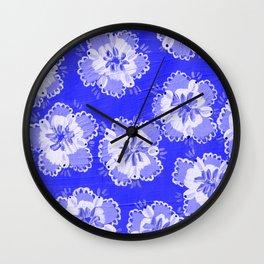 Dutch Lace Rose Wall Clock