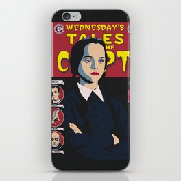 Wednesday Tales iPhone Skin
