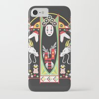 deco iPhone & iPod Cases featuring Spirited Deco by Ashley Hay