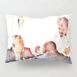 Aleppo: men and room maids Pillow Sham