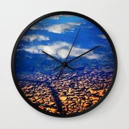 Sky Pebbles Wall Clock