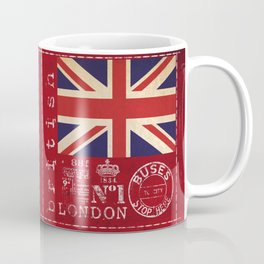 Union Jack Great Britain Flag Coffee Mug