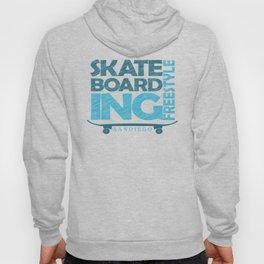 Skateboarding Freestyle San Diego Hoody