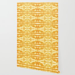 Yellow Tie Dye Twos Wallpaper