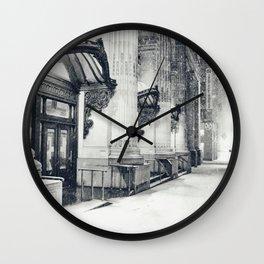 New York City Snow Globe Wall Clock