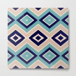 navajo blue Metal Print