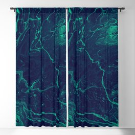 Ebb & Flow - An Abstract Piece Blackout Curtain