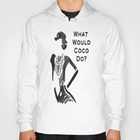 coco Hoodies featuring COCO by I Love Decor