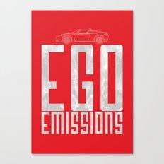 Tesla - Ego Emissions Canvas Print