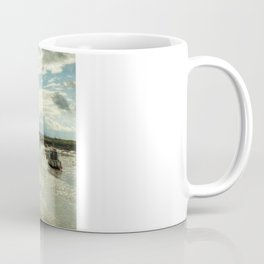 Three Little Boats Coffee Mug