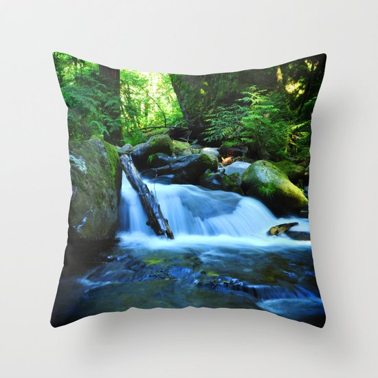 Nature's Remedy Throw Pillow