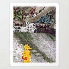 LORD QUAS. Art Print