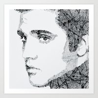 elvis Art Prints featuring Elvis by urbanexpressionist