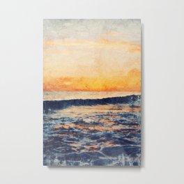 Sunset, My Favorite Color Metal Print