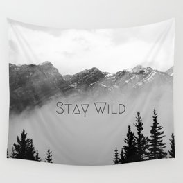 Stay Wild Wall Tapestry