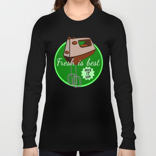 Foodie Mix it up Long Sleeve T-shirt