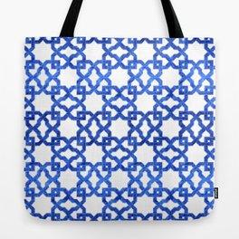Geometric Pattern - Oriental Design rmx Tote Bag