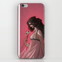 valentine iPhone & iPod Skins featuring Valentine by Lisa