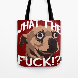 Spanky (Uncensored Red) Tote Bag