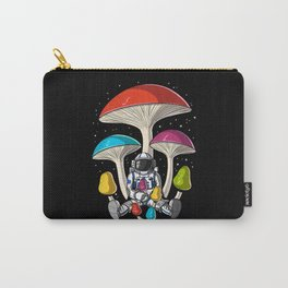 Space Astronaut Psychedelic Mushrooms Festival Carry-All Pouch
