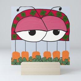 The Irish Ladybird Mini Art Print