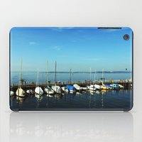 boats iPad Cases featuring BOATS by Rebecca Jackson
