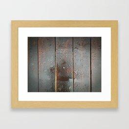 Wood you? Framed Art Print