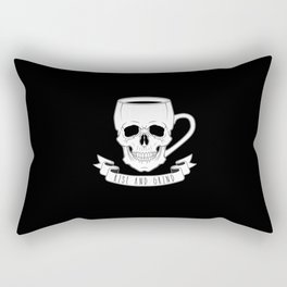 Rise and Grind Rectangular Pillow
