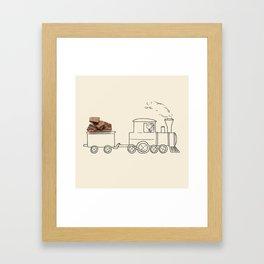 Nestle - Train Framed Art Print
