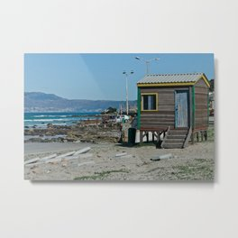 Surf Shack Metal Print