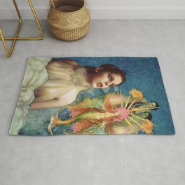 Angel Guide  Rug